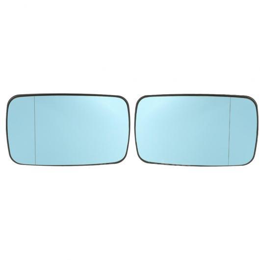 AL 1 ペア 適用: BMW E46 ブルー 左 右側 ガラス ヒーテッド バックミラー ミラー ガラス 51168250438 1ペア ブルー AL-II-1316