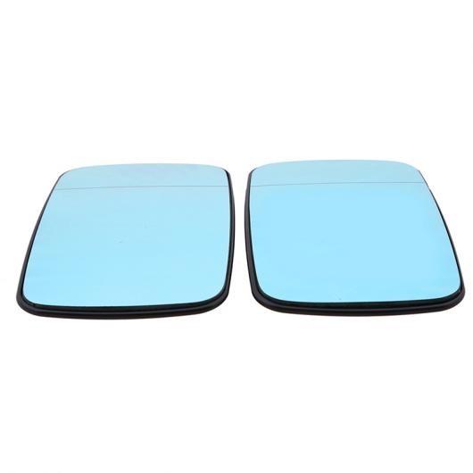 AL リア ビュー ミラー フロント ドア サイド ミラー ガラス ブルー レンズ 適用: BMW 5シリーズ E39 セダン/ワゴン 1997-2003 ヒート 1ピース 右・1ピース 左 AL-II-1210