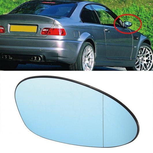 AL 左 + 右 ヒーテッド ブルー サイド ドア ミラー ガラス 適用: BMW E90 E46 3シリーズ 1 ペア AL-II-1308