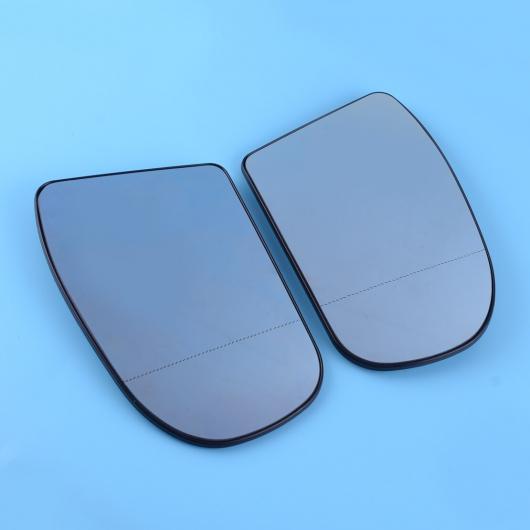 AL 1ペア 適用: ベンツ E/Cクラス W211 W203 セダン/ワゴン/クーペ 2003-2006 ブルー ヒーテッド ミラー ガラス ABS 2038100121 2038100221 AL-II-1311