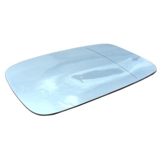 AL 右側 バックミラー ミラー ガラス レンズ ヒート 機能 ブルー リア ビュー ドア サイド ミラー 適用: BMW 5シリーズ AL-II-1414