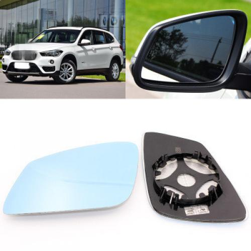 AL 適用: BMW X1 広角 ブルー ミラー アンチ バックミラー ミラー ヒート 広角 反射 リバース レンズ AL-II-1418