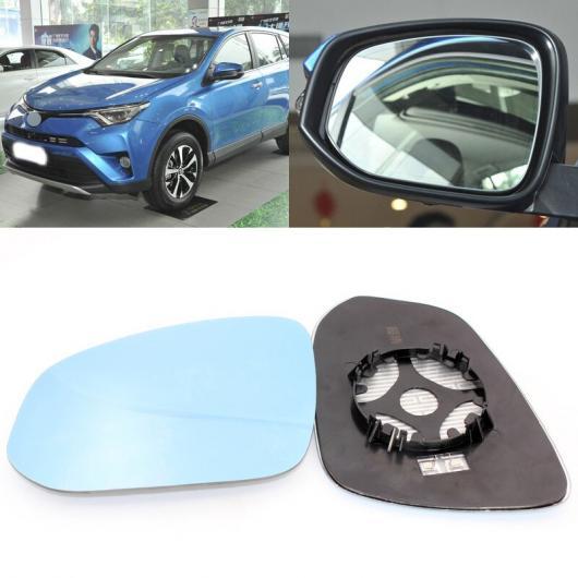 送料無料 AL 適用: トヨタ 安心の定価販売 RAV4 2009-2016 贈与 サイド ビュー ドア AL-II-1485 ブルー ヒーテッド ペア ベース ミラー 1 ガラス