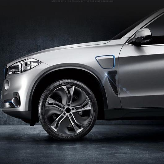 AL 2ピース カーボン ファイバー 適用: BMW E46 E39 E52 F30 F20 F34 X3 X5 X6 E90 E91 E60 E61 ダミーダクトトリム サイド フェンダー 通気口 ステッカー カーボンファイバー AL-II-2315