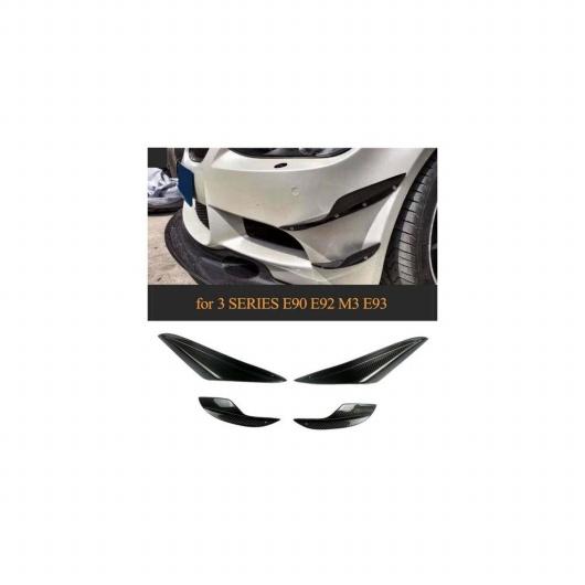 【気質アップ】 AL E93 BMW用 E90 E92 E93 M3 2005-2012 4ピース/セット カーボンファイバー フロント バンパー バンパー スプリッター スポイラー カナード フィン トリム 4ピース/セット カーボンファイバー調 AL-JJ-2841, 小郡町:05b9dc51 --- promilahcn.com