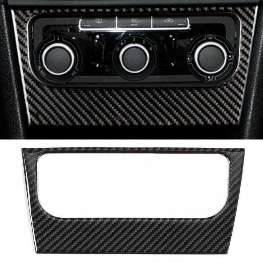 送料無料 AL カーボンファイバー エアコン スイッチ パネル 奉呈 フレーム トリム インテリア R MK6 2008-2012 与え AL-JJ-8666 ステッカー 適用: