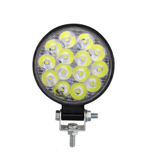 送料無料 AL 4ピース LED 日本最大級の品揃え ワーキング ランプ 新色追加して再販 ミニ MINI BMW ラウンド 14 AL-KK-2906 トラック ワーク スポットライト ライト 42W 補助 ATV オフ-ロード 適用: