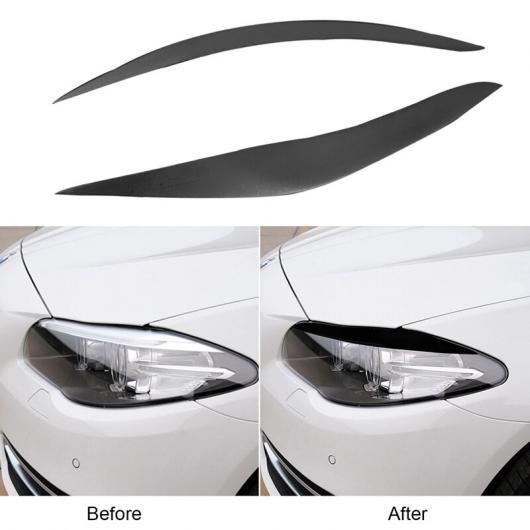人気ブランド AL ブラック ヘッドライト メンバー アイブロー ヘッドライト アイリッド 装飾 適用: BMW 5シリーズ 518D 520I 528i 535i F10 M5 2011-2016 AL-KK-1384, 赤ちゃん体重テディベア製造直販店 e9e471b1