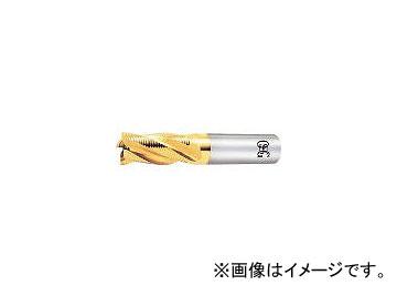 オーエスジー/OSG ハイスエンドミル TINラフィングショート ファインピッチ 10mm EXTINRESF10(2008891)