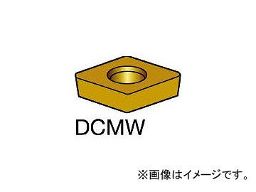 サンドビック/SANDVIK コロターン107 旋削用ポジ・チップ DCMW11T304 H13A(1735357) 入数:10個