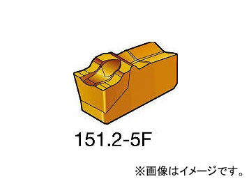 サンドビック/SANDVIK T-Max Q-カット 突切り・溝入れチップ R151.2250155F 2135(2488388) 入数:10個