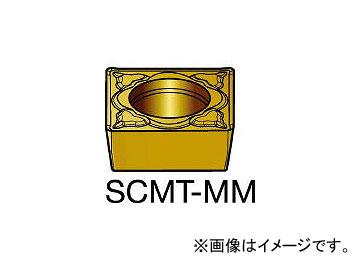 サンドビック/SANDVIK コロターン107 旋削用ポジ・チップ SCMT09T308MM 1115(3587576) 入数:10個