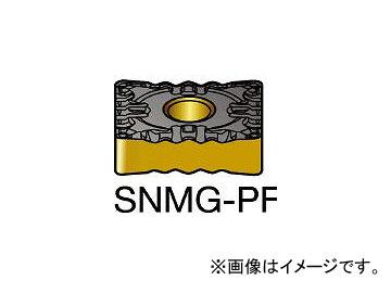 サンドビック/SANDVIK T-Max P 旋削用ネガ・チップ SNMG120408PF 1525(1299123) 入数:10個