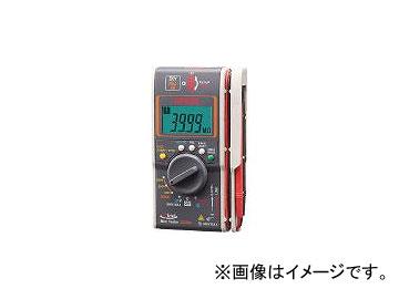三和電気計器/SANWA-METER ハイブリッドミニテスタ(3レンジ絶縁抵抗計+クランプ)40MΩまで DG35A(3973999) JAN:4981754044648