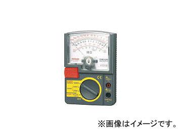 三和電気計器/SANWA-METER アナログ絶縁抵抗計 1000V/500V/250V PDM1529S(4239679) JAN:4981754043665