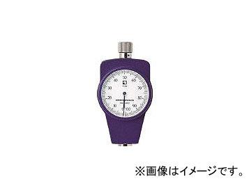 古里精機製作所/KORISEIKI ゴムプラスチック硬度計標準型 KR14A(2196085)