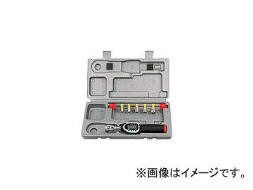 京都機械工具/KTC 6.3sq.ソケットレンチセット デジラチェモデル[6点組] TB206WG1(3738396) JAN:4989433753584