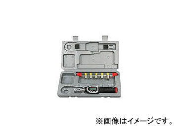 京都機械工具/KTC 9.5sq.ソケットレンチセット デジラチェモデル[6点組] TB306WG1(3738400) JAN:4989433167220