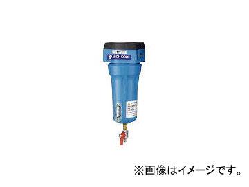 日本精器/NIHONSEIKI 高性能エアフィルタ25A3ミクロン(ドレンコック付) NICN525ADLDV(4121350) JAN:4580117342393