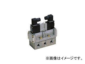 CKD 4Fシリーズパイロット式5ポート弁セレックスバルブ 4F52010AC100V(1103571) JAN:4547431000842