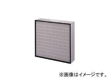 日本無機/NIPPONMUKI 塩害対策低圧力損失中性能フィルタ レルフィ 610×610×150 LMXL7065S(4186915)
