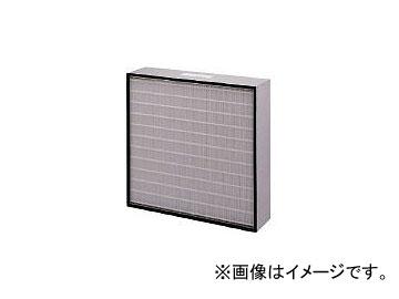 日本無機/NIPPONMUKI 塩害対策低圧力損失中性能フィルタ レルフィ 610×610×150 LMXL7095S(4186974)