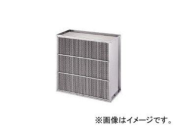 日本無機/NIPPONMUKI 耐熱350℃多風量HEPAフィルタ 610×610×150 ATMCU24QFS4(4186681)