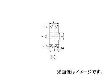 エバオン/EVERON ブッシングプーリー SPZ 315mm 溝数3 SPZ3153(3807258) JAN:4571314381964