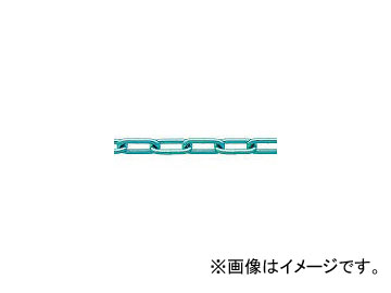 ニッサチェイン/NISSA 鉄ユニクロ溶接リンクチェイン 6.5mm×30M IW2065(3557537) JAN:4968462159796