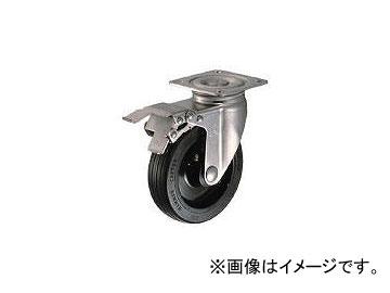 ハンマーキャスター/HAMMER-CASTER オールステンレス S型自在 SP付 ゴム車150mm 315SRU150BAR01(1251392) JAN:4956237051536