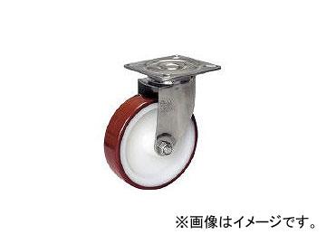シシクアドクライス/SISIKU ステンレスキャスター ウレタン車輪付自在 SUNJ200POTH(3535801) JAN:4537657272758