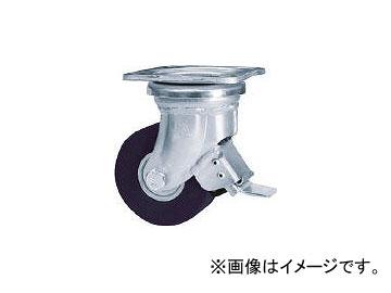 シシクアドクライス/SISIKU 低床超重荷重用キャスター 100径 ユニクロ MCMO車輪 DHJB100UMCMO