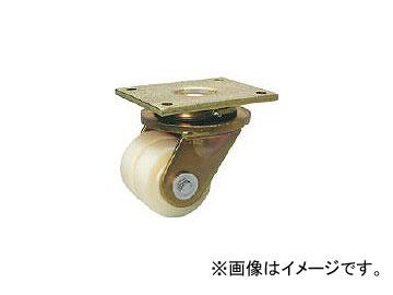 シシクアドクライス/SISIKU 低床重荷重用双輪キャスター 自在 80径 LSDGSPO80K