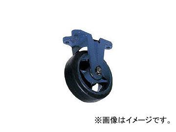 京町産業車輌/KYOMACHI 鋳物製金具付ゴム車輪(幅広) AHU300X100