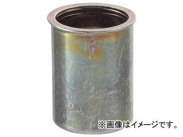 トラスコ中山/TRUSCO クリンプナット薄頭スチール板厚1.5 M4×0.7 1000個入 TBNF4M25SC(3021394) JAN:4989999245882