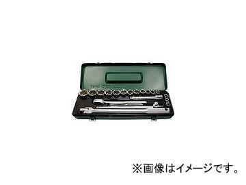 旭金属工業/ASAHI 6角ソケットレンチセット12.7□×20PCS VJS4151(3767256) JAN:4992676021891