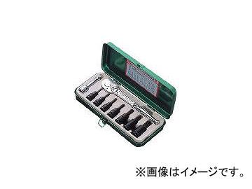 前田金属工業/TONE ヘキサゴンソケットレンチセット(強力タイプ) KH3072(1221086) JAN:4953488000665