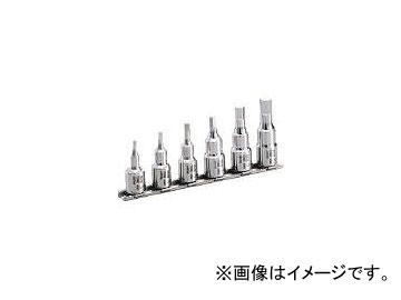前田金属工業/TONE SUSヘキサゴンソケットセット(ホルダー付) 6pcs SHH306(3877205) JAN:4953488263237