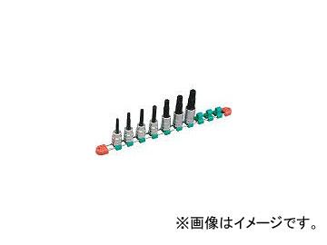京都機械工具/KTC 12.7sq.T型いじり止めトルクスビットソケットセット[7コ組] TBT407TH(3078639) JAN:4989433149844