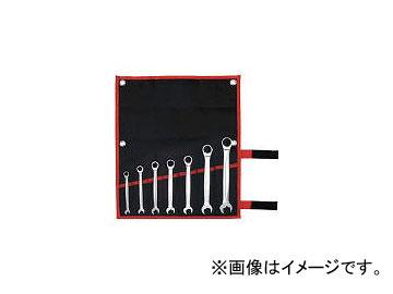 前田金属工業/TONE クイックラチェットめがねレンチセット 7pcs RMQ700(3893740) JAN:4953488285895