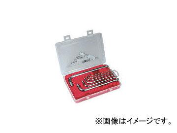 エイト/EIGHT 六角棒スパナ ステンレス製 テーパーヘッド セミロング セット VS7C(4012844) JAN:4984798001783