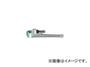 スーパーツール/SUPER TOOL アルミ製ストレートパイプレンチ(被覆管専用) AP900N(1781626) JAN:4967521001458