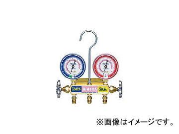 アサダ/ASADA R410A用マニホールドキット 92cm標準ホース仕様 ケース付 Y40951C(3342450) JAN:4991756176629
