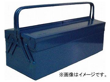 トラスコ中山/TRUSCO 2段式工具箱 600×220×305 ブルー GL600B(1213563) JAN:4989999701654