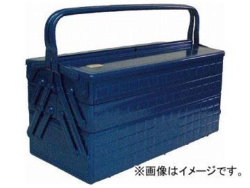 トラスコ中山/TRUSCO 3段式工具箱 472×220×343 ブルー GT470B(1215663) JAN:4989999700831