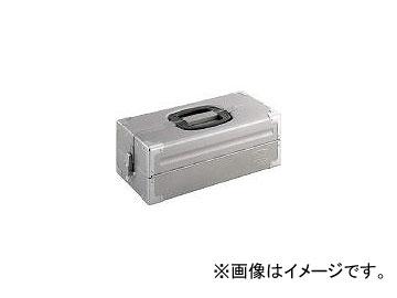 送料無料 前田金属工業 TONE ツールケース メタル シルバー BX322SSV 3904377 V形2段式 お得セット JAN:4953488220520 《週末限定タイムセール》
