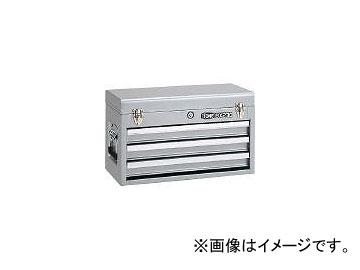 前田金属工業/TONE ツールチェスト 508×232×302mm シルバー BX230SV(3904326) JAN:4953488220582