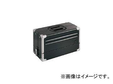 前田金属工業/TONE ツールケース(メタル) V形3段式 マットブラック BX331BK(3904393) JAN:4953488211979