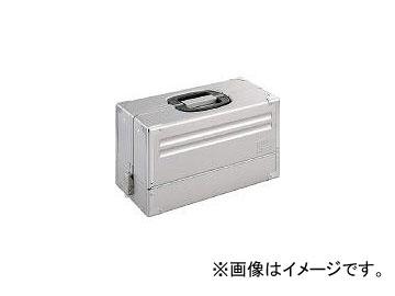 前田金属工業/TONE ツールケース(メタル) V形3段式 シルバー BX331SV(3904407) JAN:4953488212655