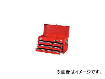 京都機械工具/KTC チェスト(3段3引出し)ソリッドレッド SKX0213(3738175) JAN:4989433829074